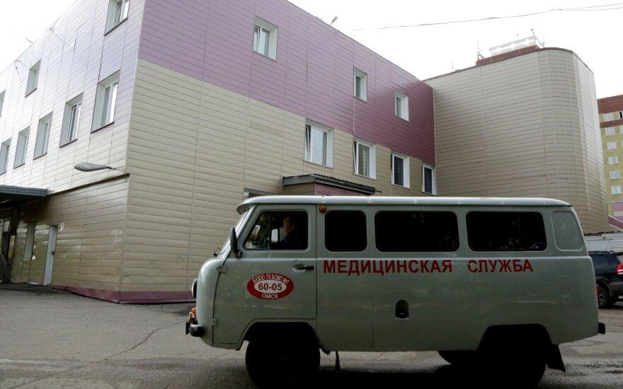 Ligoninė, į kurią pateko Aleksejus Navalnas