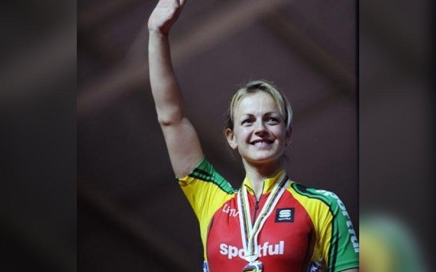 S.Krupeckaitė: į pasaulio čempionatą važiuosiu kovoti tik dėl aukso medalių