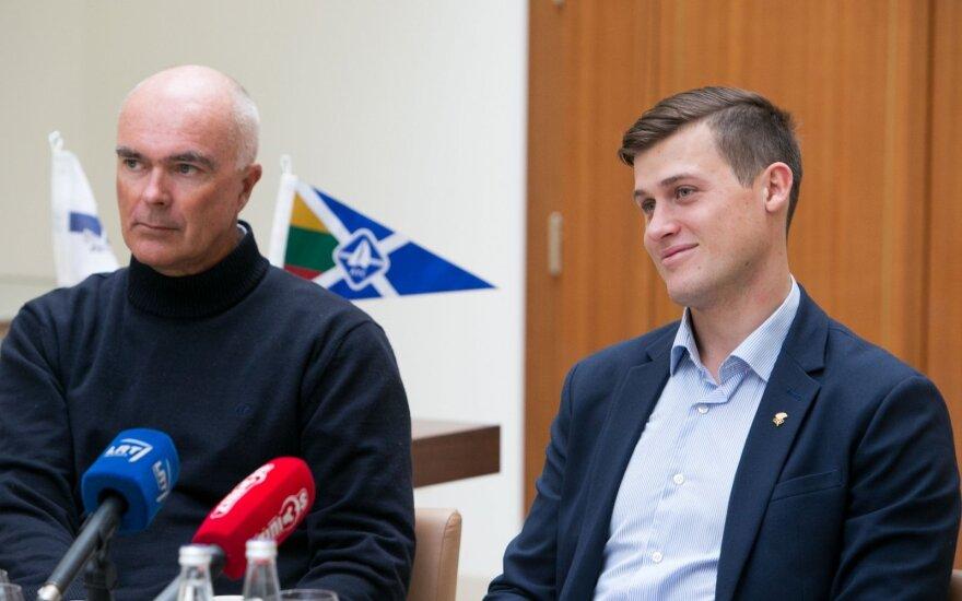 Bouwe Bekkingas ir Rokas Milevičius
