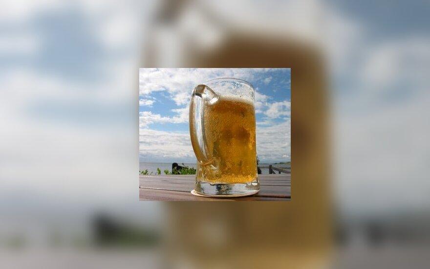 Alus, bokalas, alkoholis