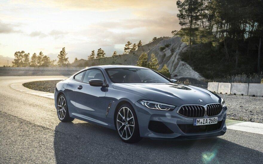 8 serijos BMW kupė