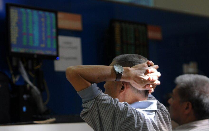 Didžiausių finansų įmonių vadovai nerimauja: optimizmas prasilenkia su tikrove