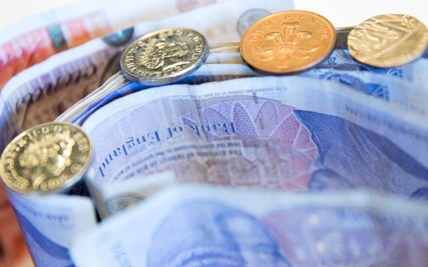 Anglijos banko vadovas: dabar nėra tinkamas laikas kelti palūkanas