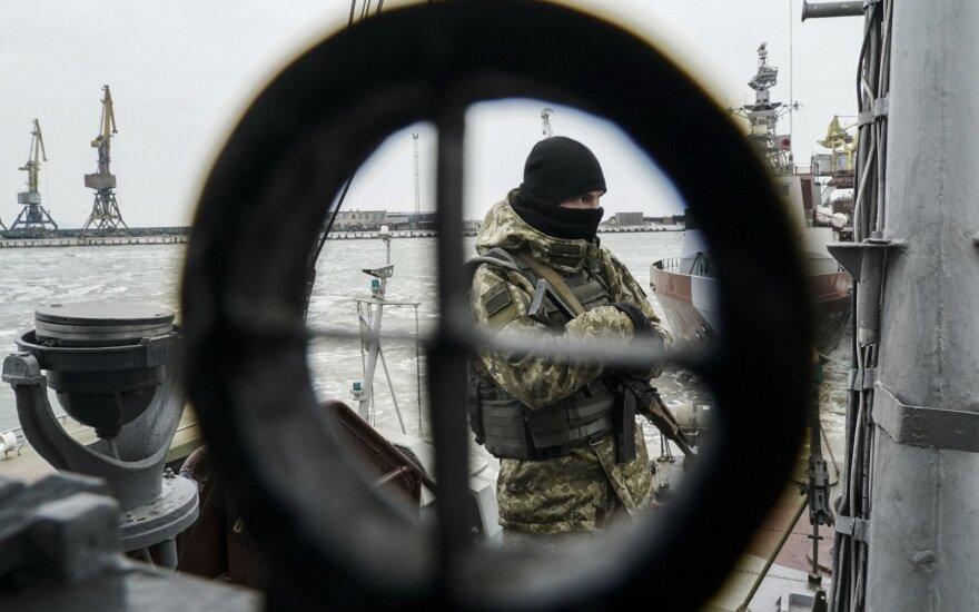 Mariupolyje apsilankęs vokiečių žurnalistas: gyventojai ruošiasi karui