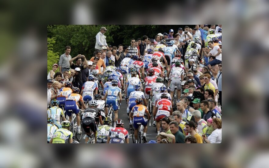 """Dviratininkų lenktynės """"Giro d'Italia"""""""