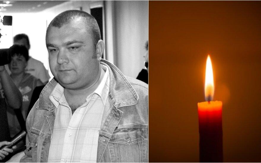 Pranešta apie Eugenijaus Ostapenko mirtį