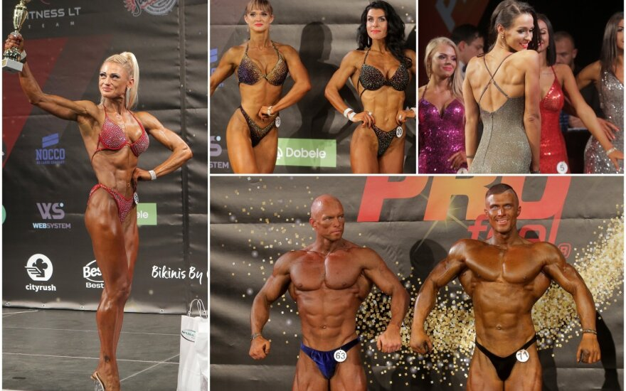 "IFBB kultūrizmo ir fitneso turnyras ""Valio PROfeel cup"""
