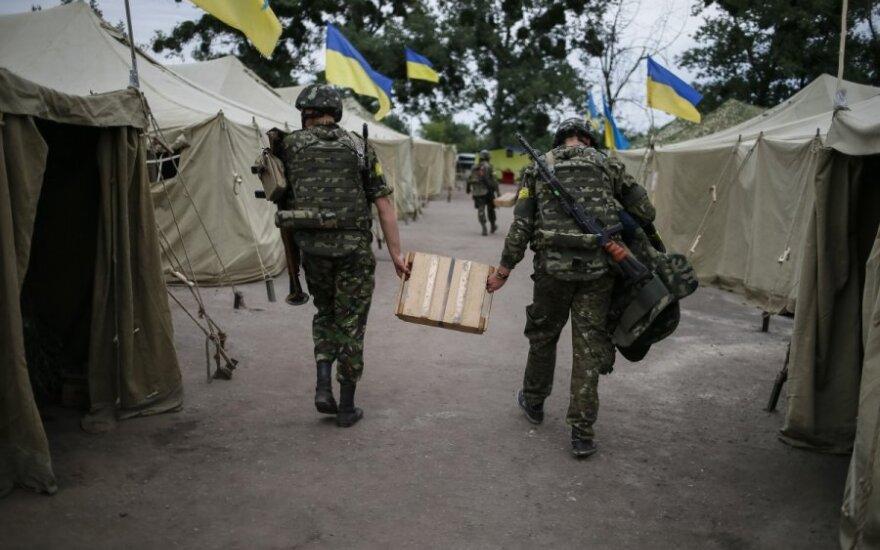 JAV į Ukrainą siųs karinius instruktorius