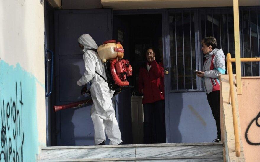 Koronavirusas Graikijoje