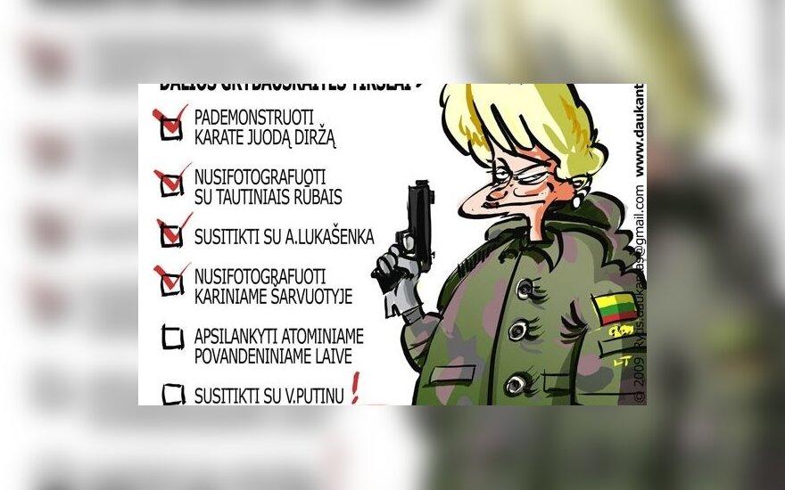 D.Grybauskaitė: lėtas teisingumas – blogas teisingumas