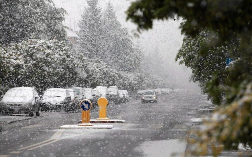 Pirmasis sniegas