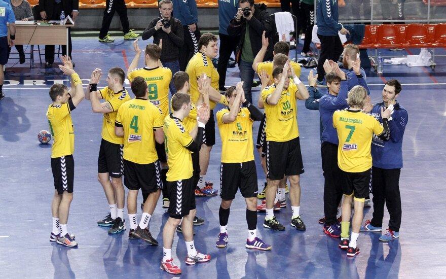 Rankinis. Pasaulio čempionato atranka. Lietuva - Slovakija