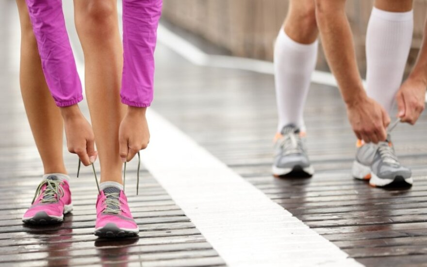 Bėgiodami išsigydysite ligas ar įgysite naujų? 3 populiarūs mitai