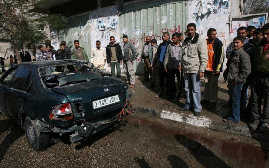 Izraelio premjeras reikalauja visiško ugnies nutraukimo Gazoje