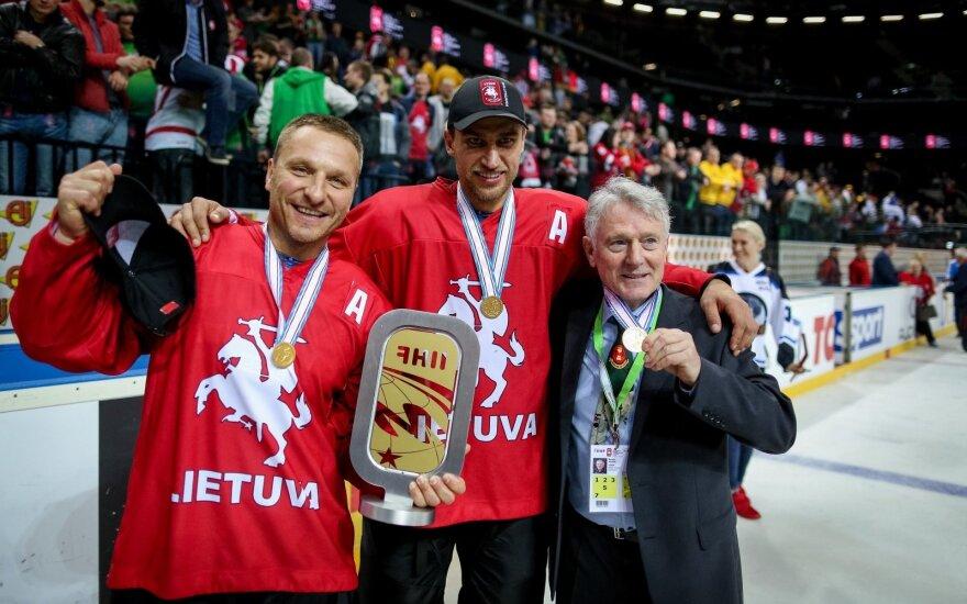 Darius Kasparaitis, Dainius Zubrus, Berndas Haake