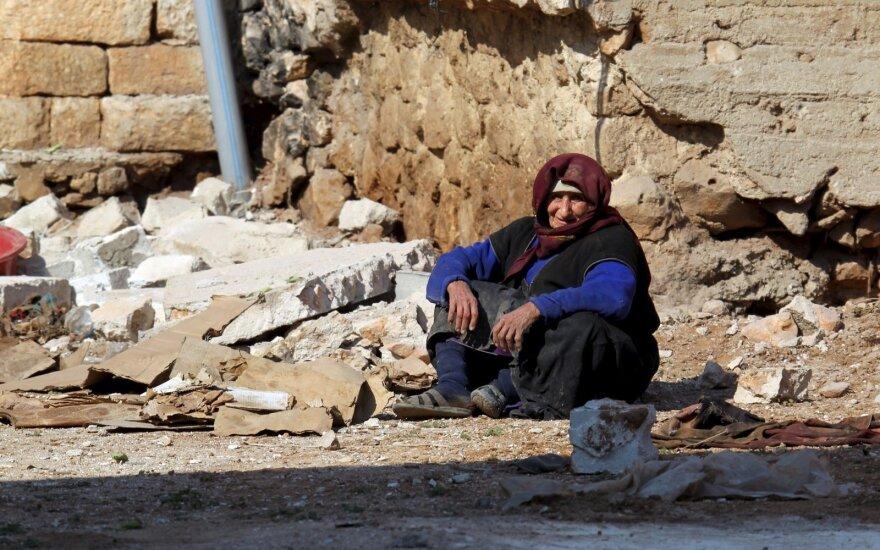 Per reidus IS bastione Sirijoje žuvo gyventojai