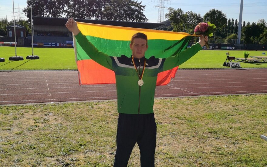 Europos kurčiųjų lengvosios atletikos čempionate – sidabras lietuviui