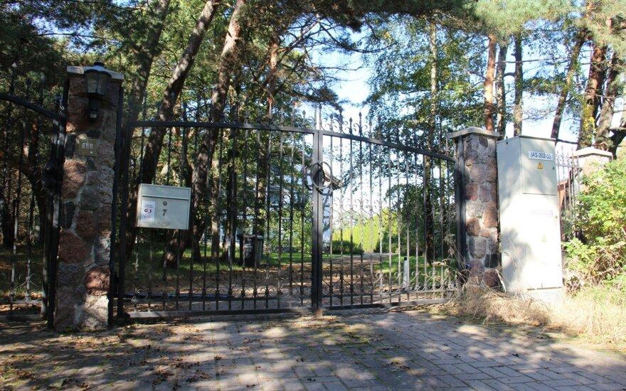 Haseltonų namai ir tvora