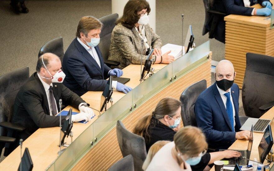 Pandemijos akivaizdoje – 2 ryškiausi lyderiai: žmonės atsakė, kas geriausiai išspręstų Lietuvos problemas