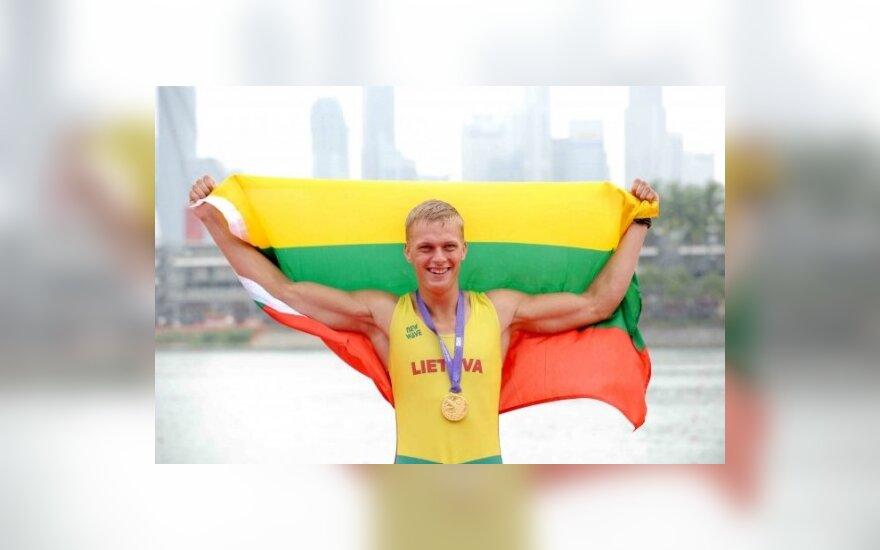 Rolandas Maščinskas iškovojo aukso medalį