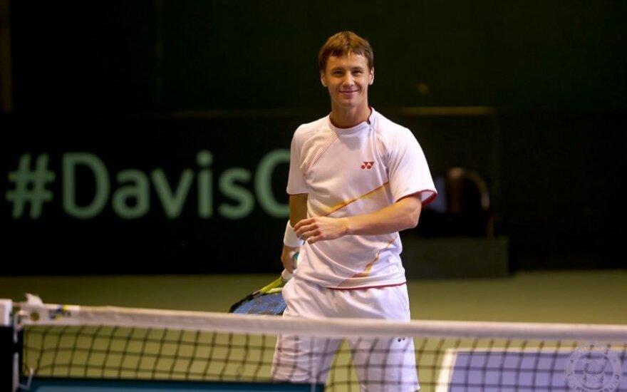 Ričardas Berankis (Norge Tennisforbund nuotr.)