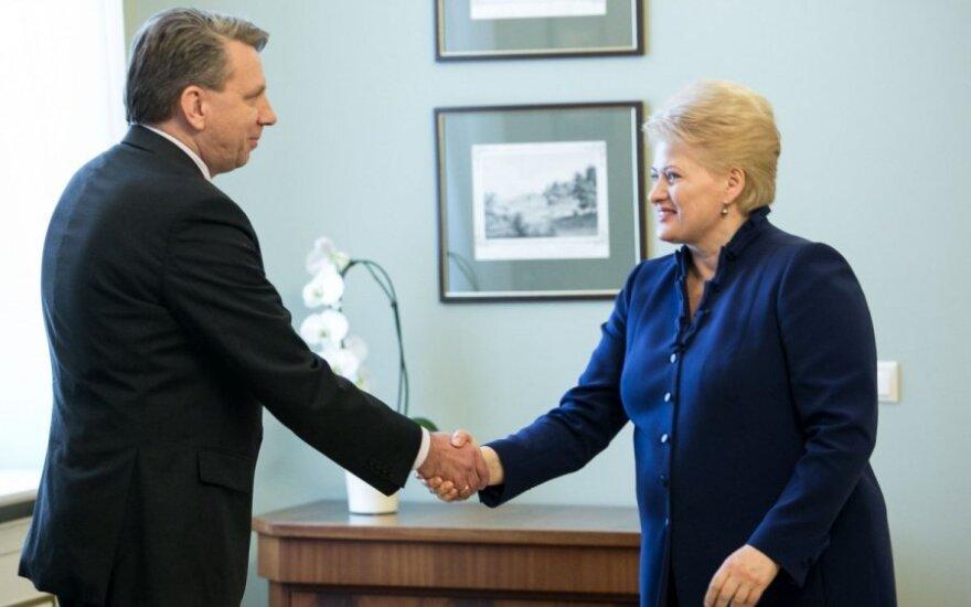 Darius Valys ir Dalia Grybauskaitė
