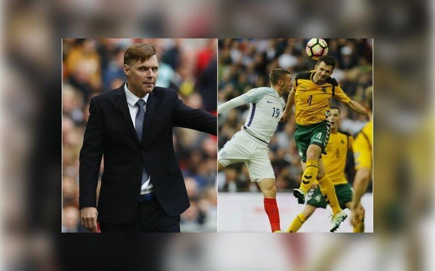 Edgaras Jankauskas, Anglijos – Lietuvos futbolo rungtynės