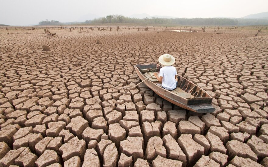 Climate change impacts not only the environment: adds risk for financial markets