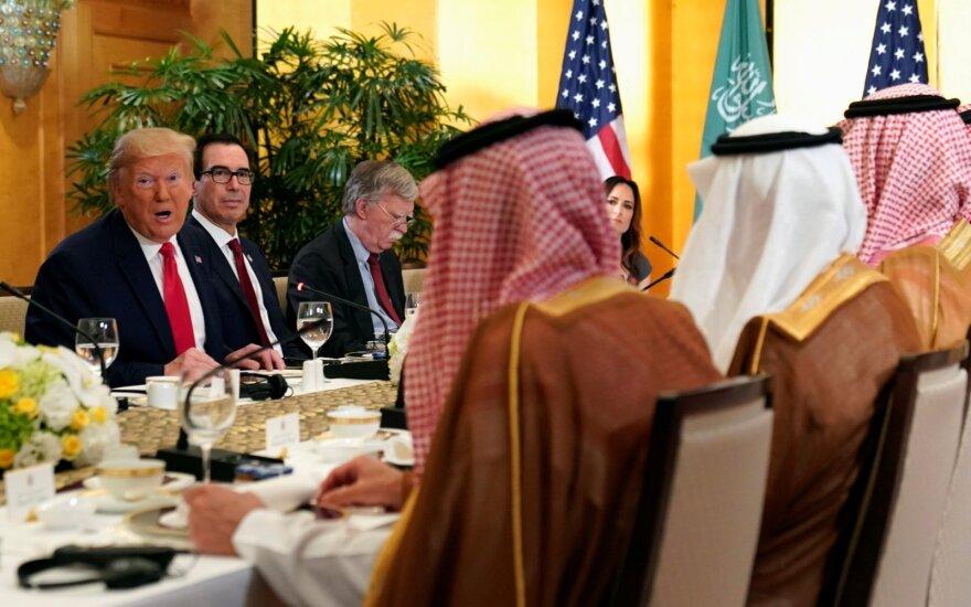 Donaldas Trumpas, Mohammedas bin Salmanas