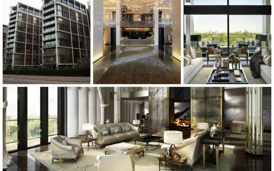 "Apartamentai Londone ""One Hyde Park"""