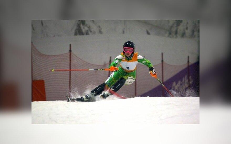 Lietuvos olimpietė Januškevičiūtė pasaulio taurėje atsiliko nuo visų