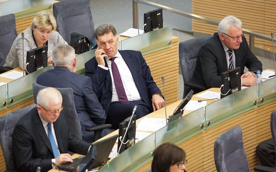 Radikalios Seimo rinkimų reformos atsisako ir ją svarstyti pasiūlę socialdemokratai