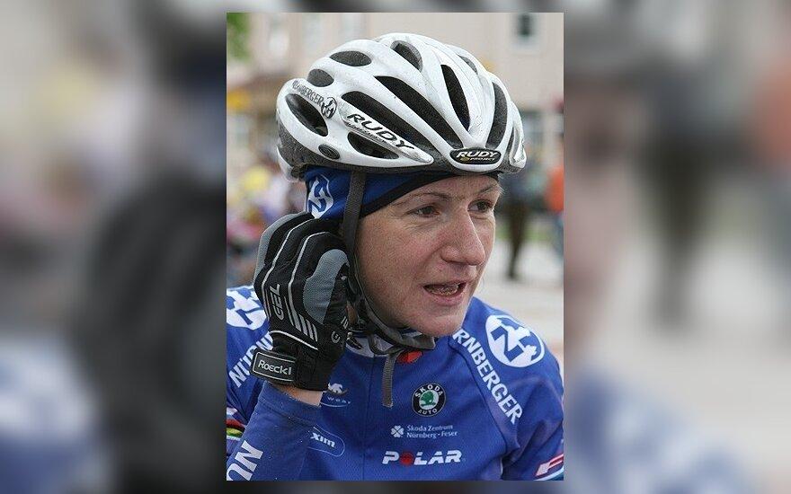 E.Pučinskaitė prarado dviratininkių lenktynių Italijoje lyderės poziciją