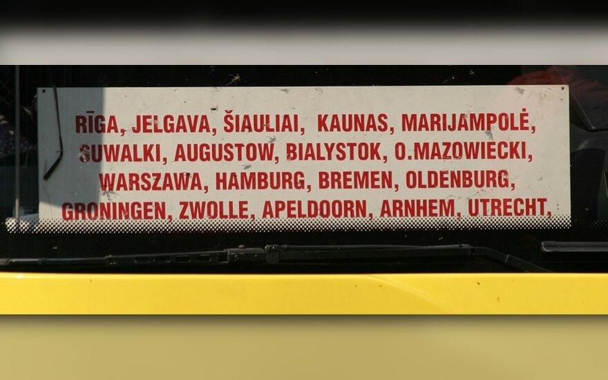 Vežėjai didins reisų į Vokietiją skaičių