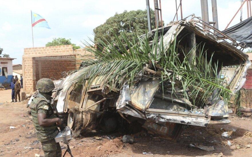 Sunkvežimio avarija Konge