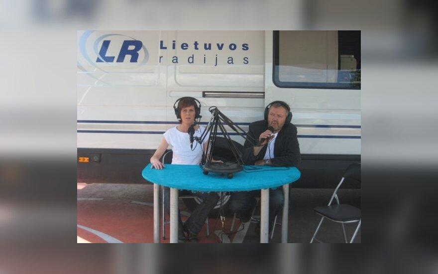 Gabija Narušytė ir Saulius Liauksminas