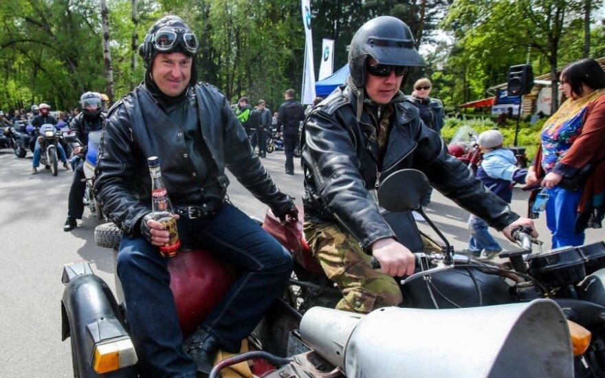 Baikerių sezono atidarymas Vilniuje