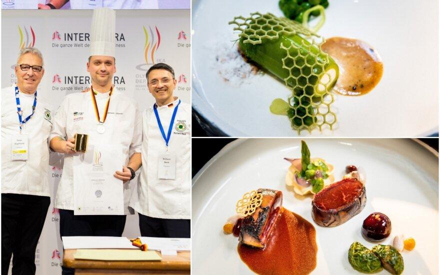Jaroslav Orševski iškovojo sidabro medalį pasaulio kulinarijos olimpiadoje
