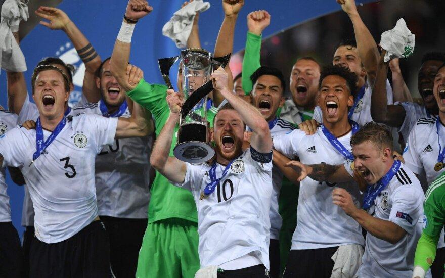 Europos futbolo iki 21 metų čempionato finale Vokietija įveikė Ispaniją