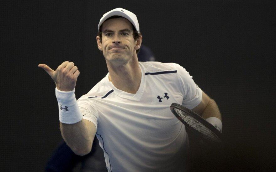 """China Open"" finale – A. Murray ir G. Dimitrovas"