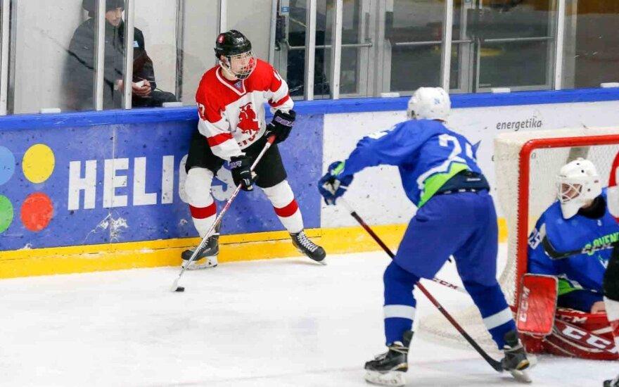 Pasaulio jaunimo ledo ritulio čempionatas: Lietuva - Slovėnija (Foto: Andrey Basevich)