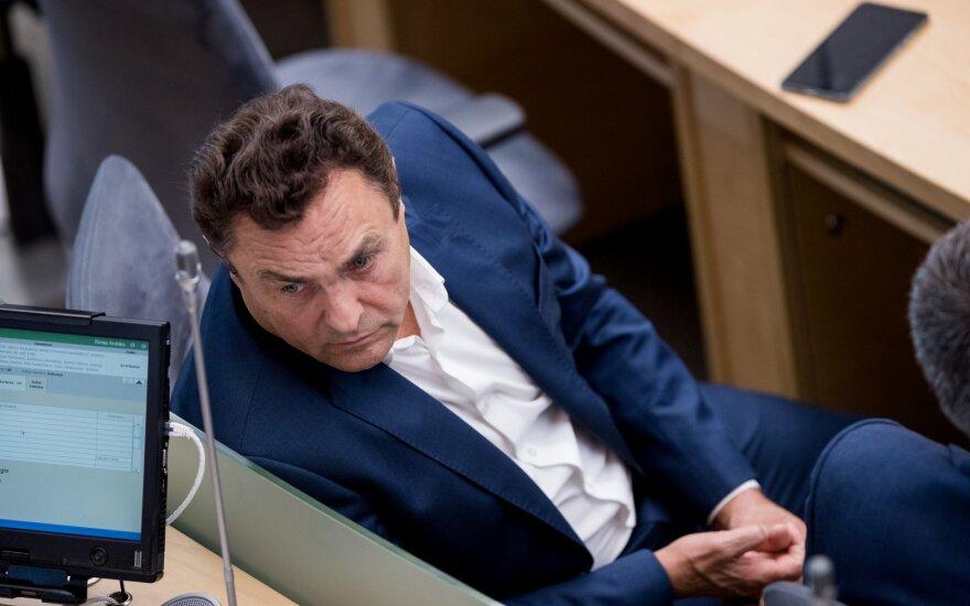 Seimo Etikos komisija pripažino Gražulį padarius pažeidimą