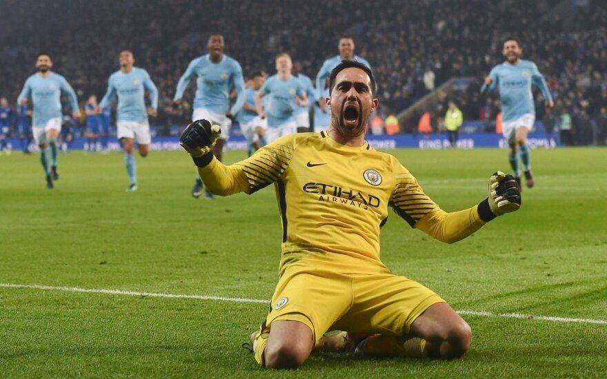 """""""Manchester City"""" vartininkas Claudio Bravo"""