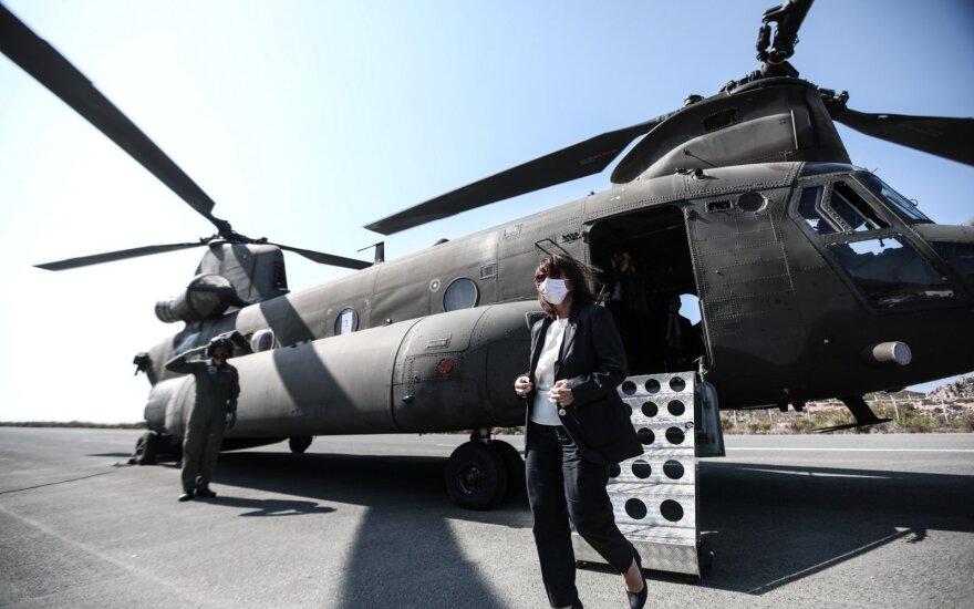 Graikijos prezidentė Katerina Sakellaropoulou