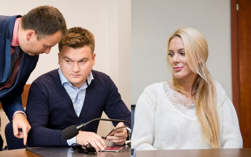 Paulius Aršauskas ir Eglė Malinauskaitė