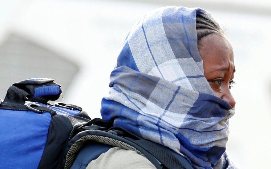 Prie Graikijos krantų apvirtus migrantų laivui žuvo mažiausiai 14 žmonių