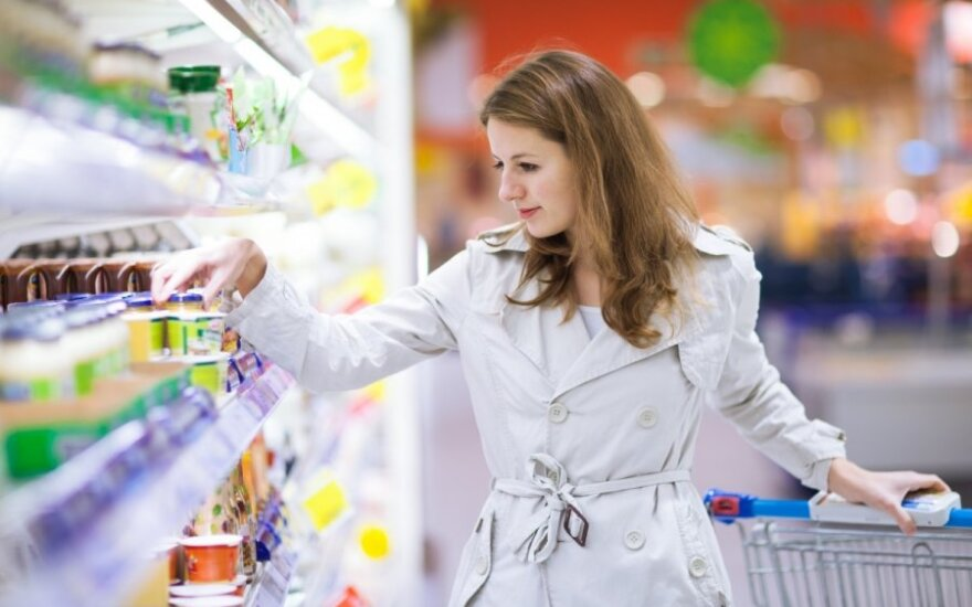 In April, Lithuania's volume of retail trade down by 0.1 percent