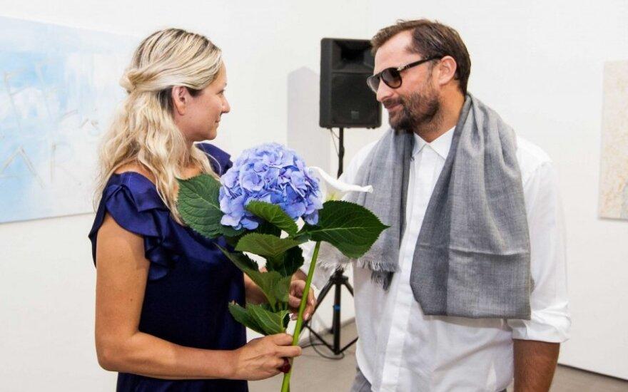 Nerija Sabaliauskienė ir Mantas Petruškevičius