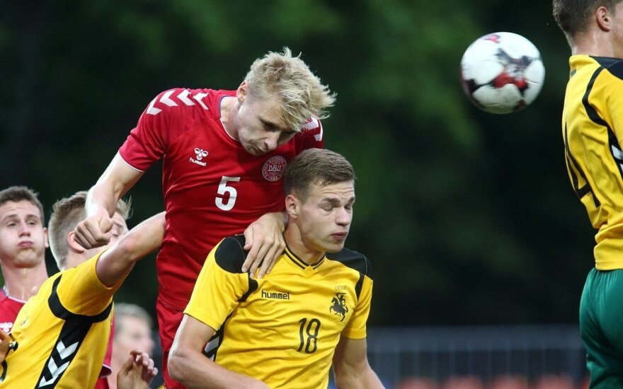 Susitinka Lietuvos ir Danijos U-21 jaunimo rinktinės