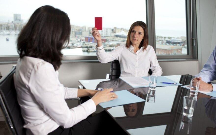 Pokalbis dėl darbo